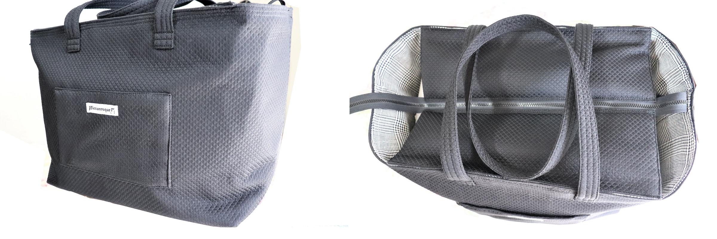バイカーさんいらっしゃーい、インテリアに素敵に収納できるヘルメットバッグお作りしています